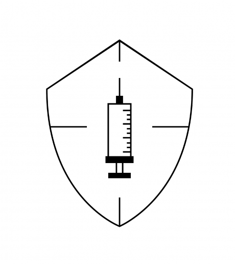 Prevention vaccines icon